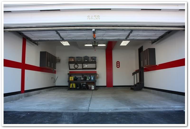 Garage Wall Color Scheme The Garage Journal Board Garage Garage Paint Garage Paint Colors Wall Color Schemes