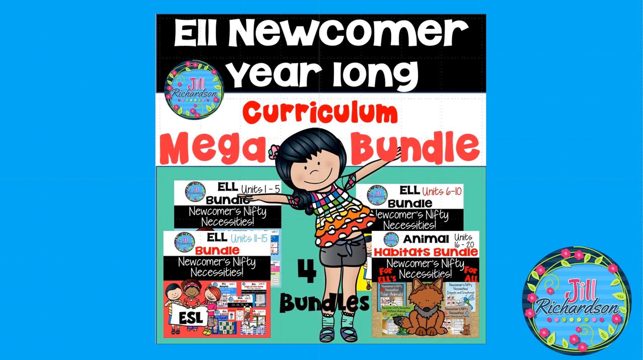 ell newcomer u2019s curriculum  u2013 20 units esl activities mega bundle  do you need help when a new