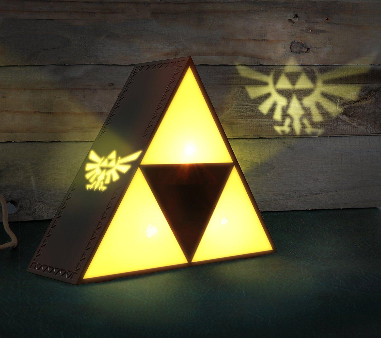The Legends Of Zelda Triforce Night Light
