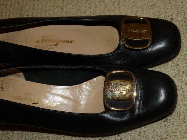Salvatore Ferragamo Vintage Women's Leather Shoes