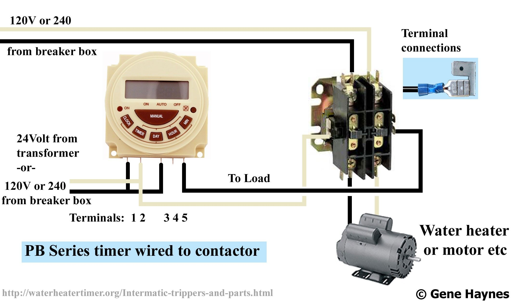 New Contactor Wiring Diagram Single Phase