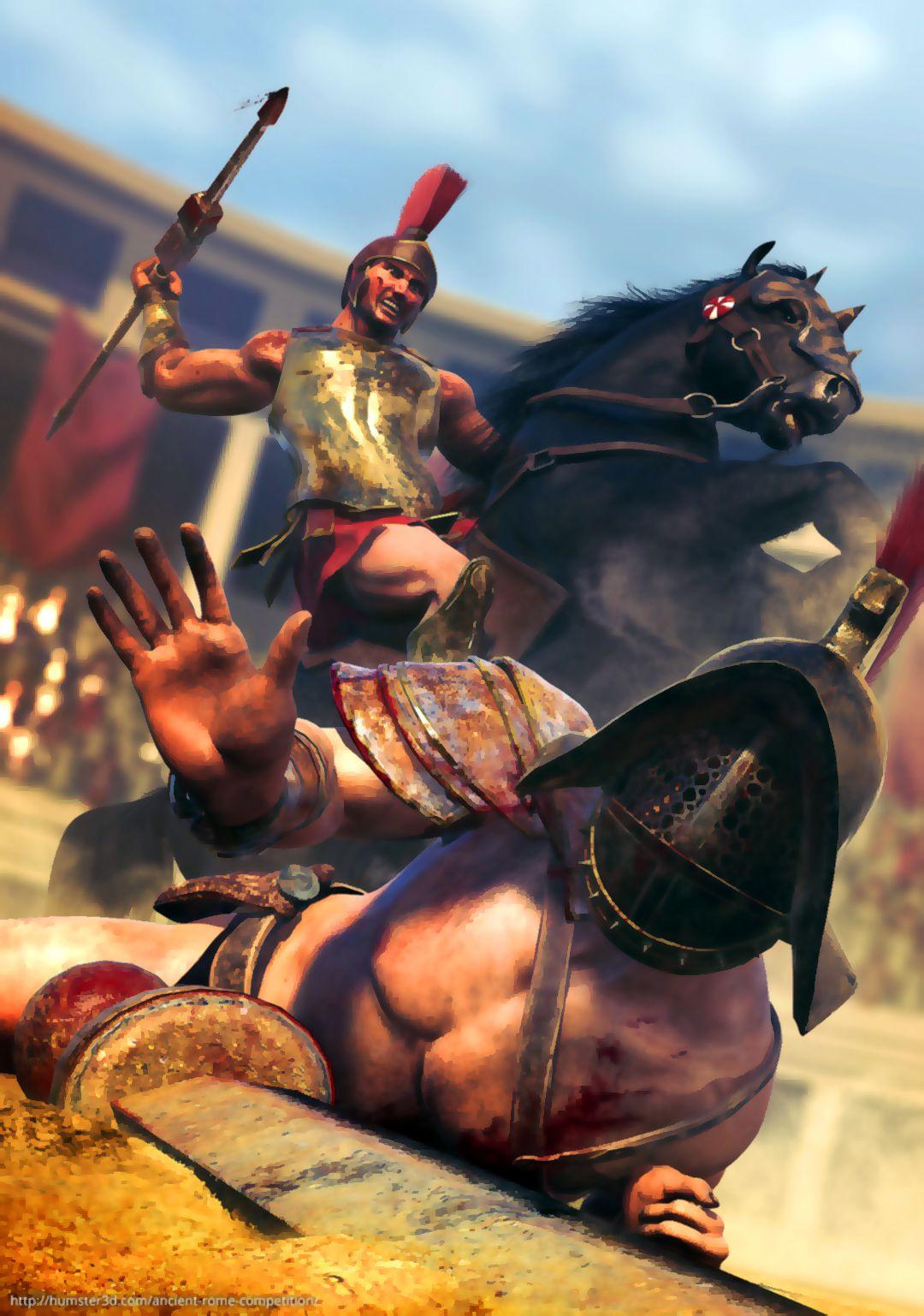 Death Of A Murmillo Gladiator Gladiators War Art