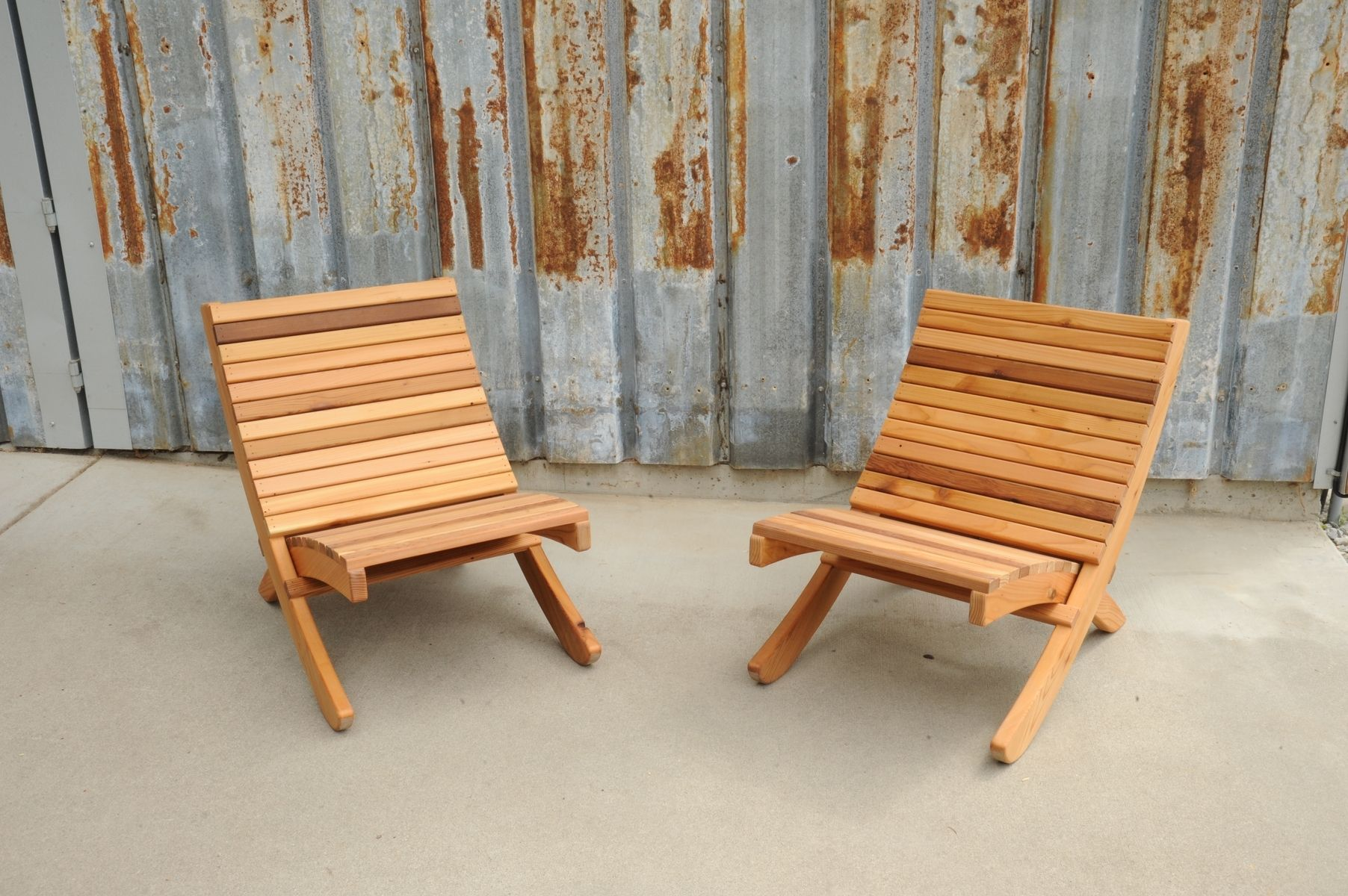 Wondrous Handmade Outdoor Chairs That Can Easily Be Folded And Stored Download Free Architecture Designs Rallybritishbridgeorg