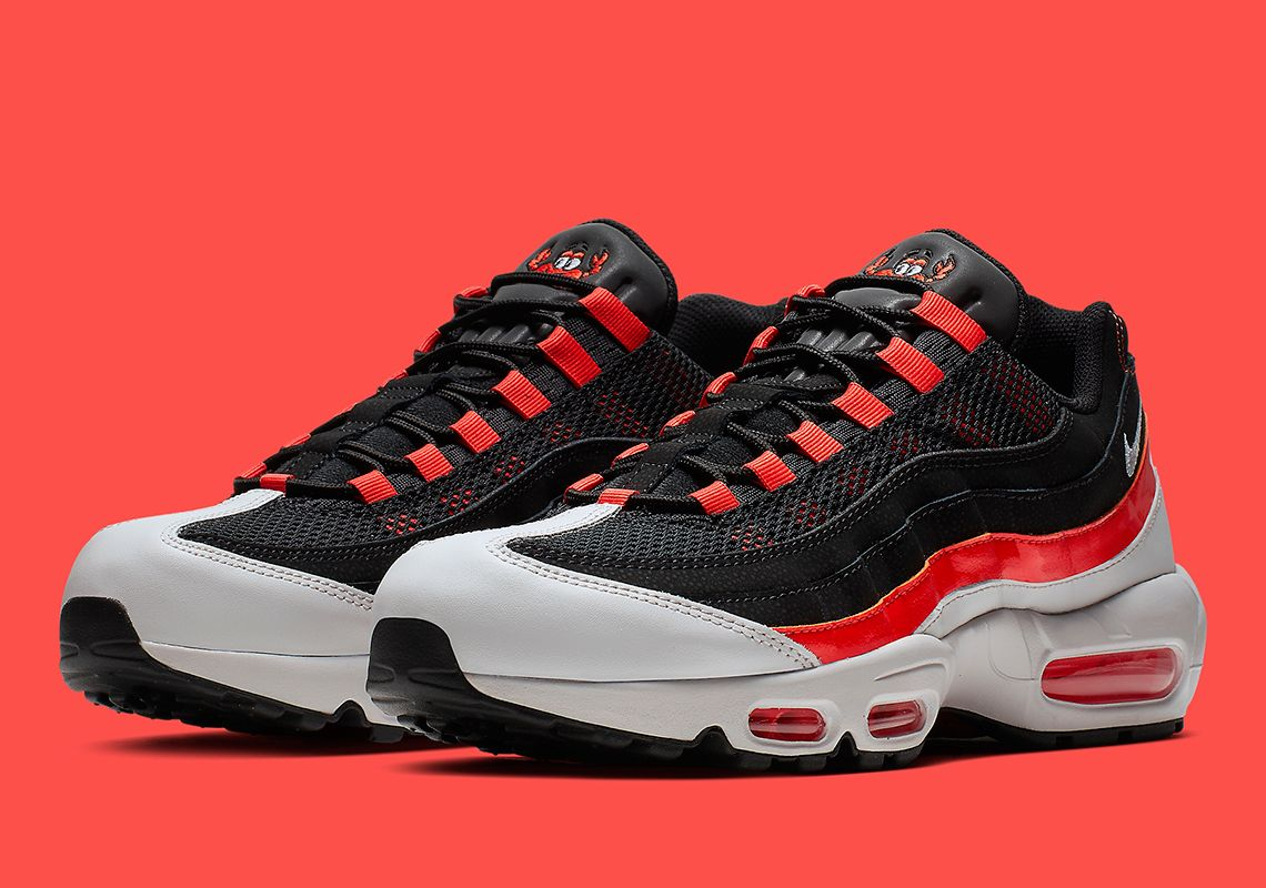 Nike Adds A Cartoon Crab To The Air Max 95 (con imágenes ...