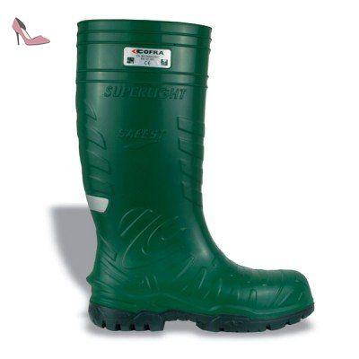 Cofra Safest S5 Ci SRC Paire de Chaussures de sécurité Taille 48 Vert - Chaussures  cofra