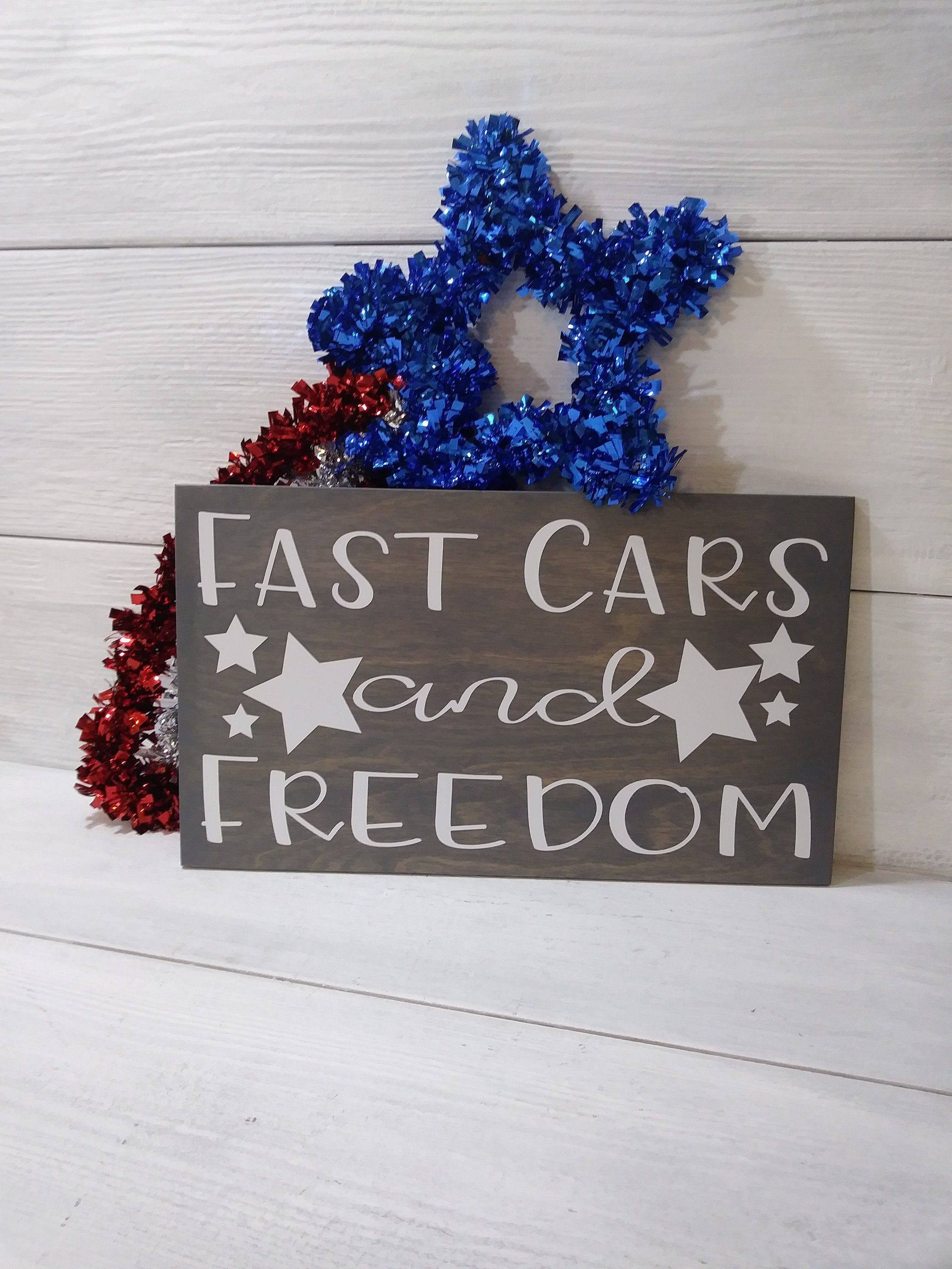 Fast Cars and Freedom . Racing Signs . Racing Motorsports