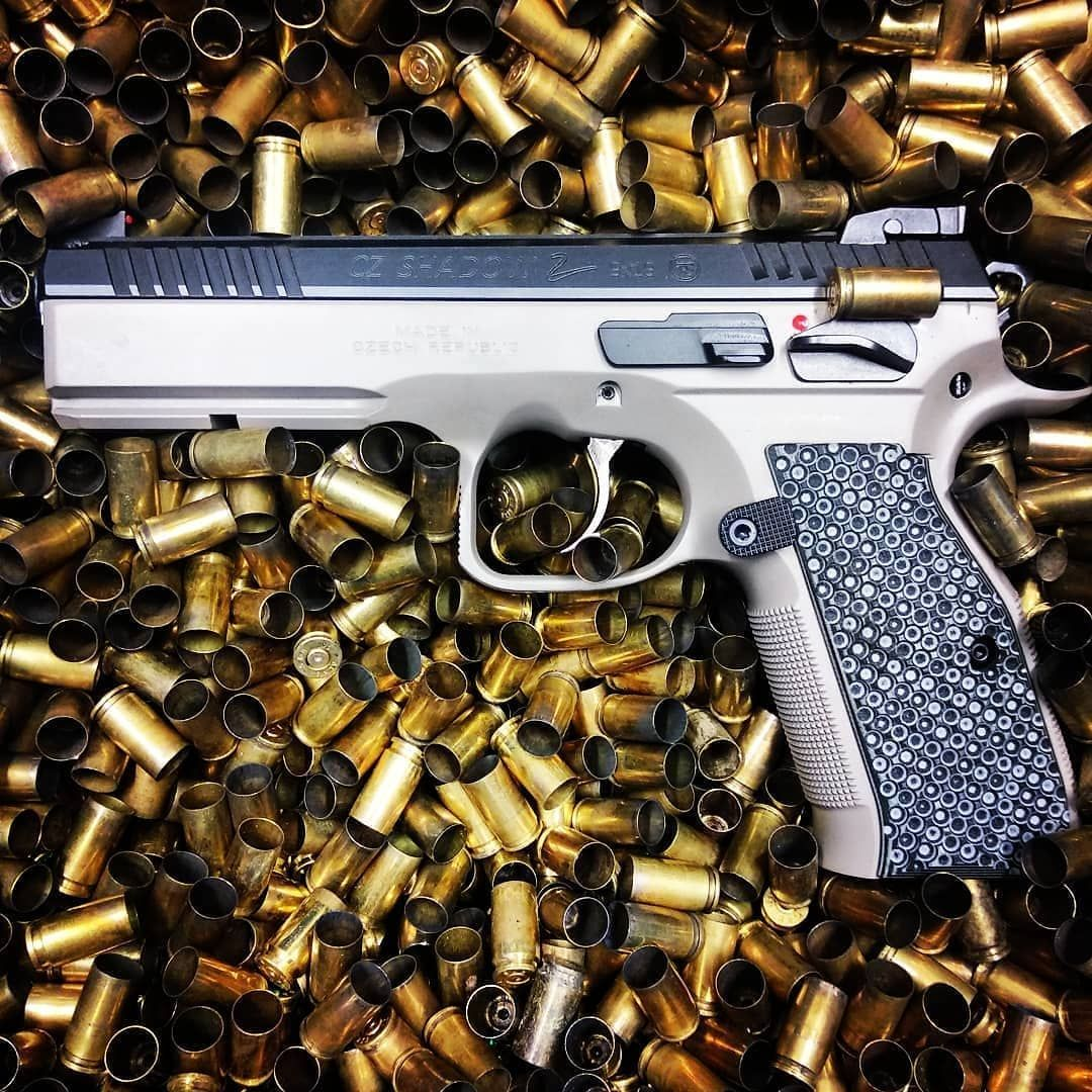 Check out the Urban Grey CZ Shadow 2 with our G10 Palm Swell