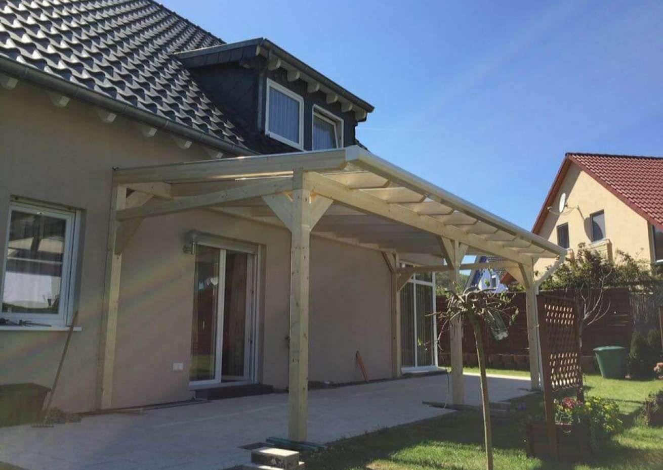 Premium Terrassenüberdachung freistehend mit