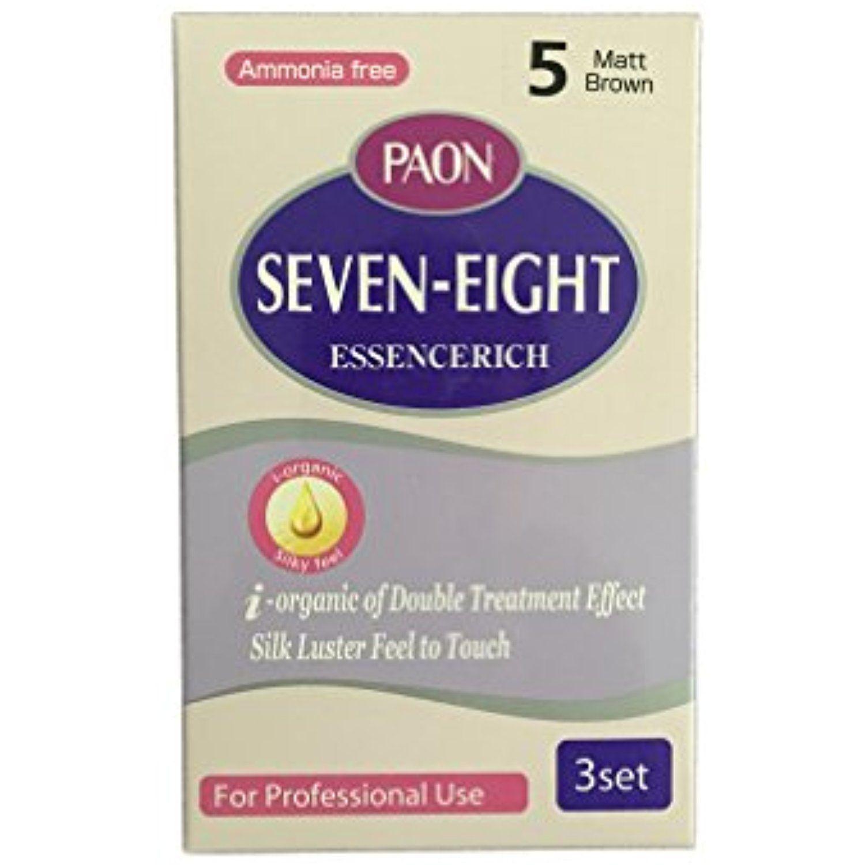 Paon Ammonia Free Seven Eight Essencerich 3 Set Haircolor Hair