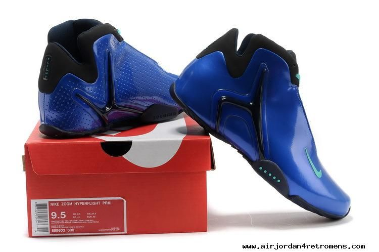 outlet store bf8a0 e5696 2013 MENS BASKETBALL SHOES NIKE ZOOM HYPERFLIGHT PRM SAPPHIRE BLUE BLACK  599603-600