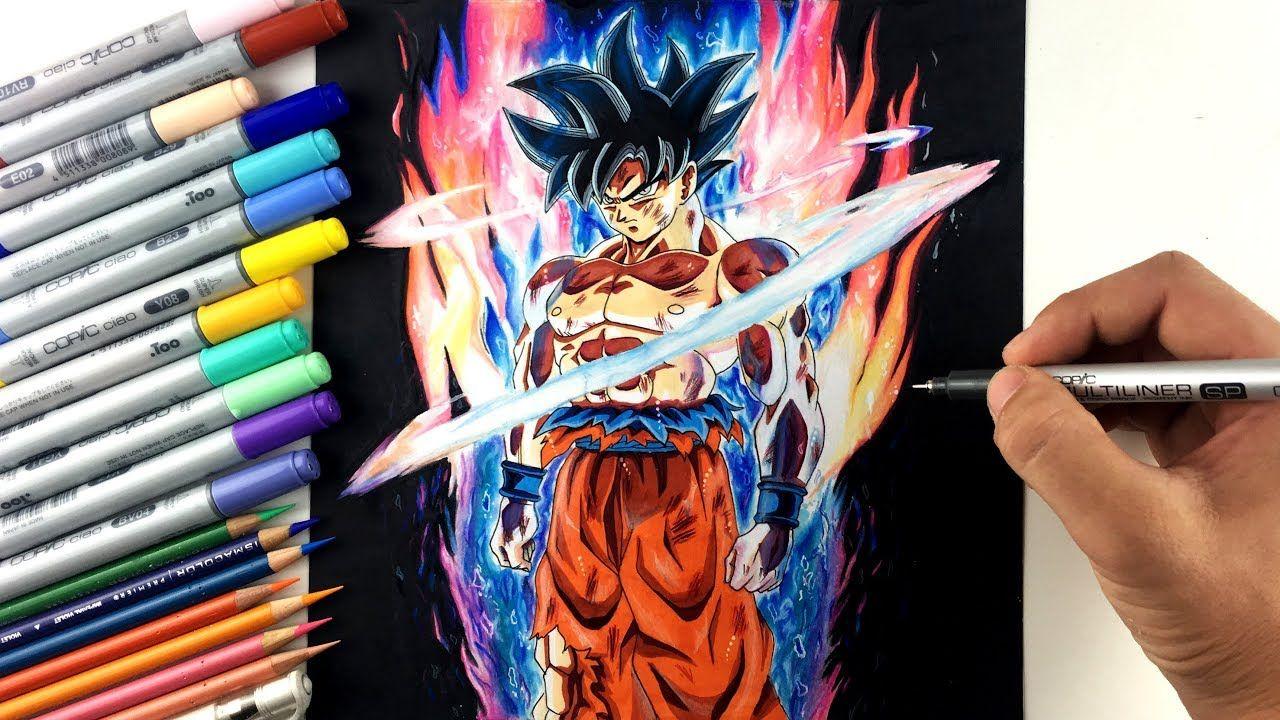 Dragon Ball Super Drawing Goku Ultra Instinct
