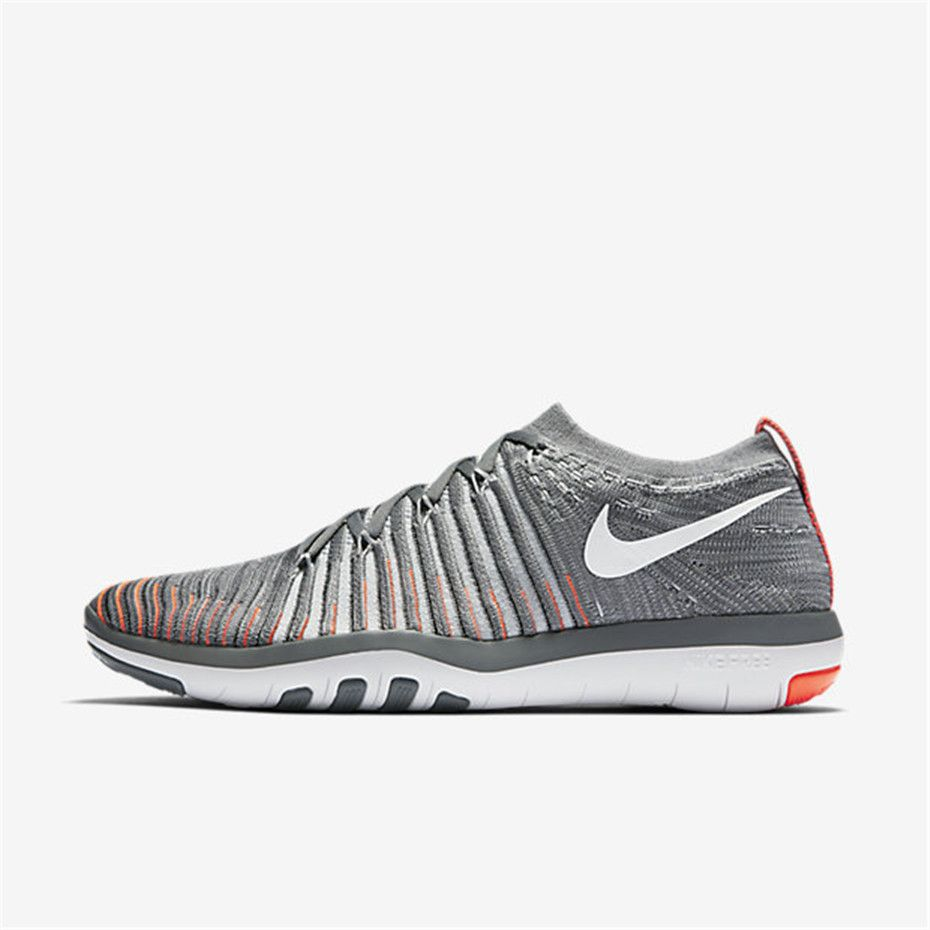 Nike Free Transform Flyknit (Cool Grey / Total Crimson / Black / Pure  Platinum)