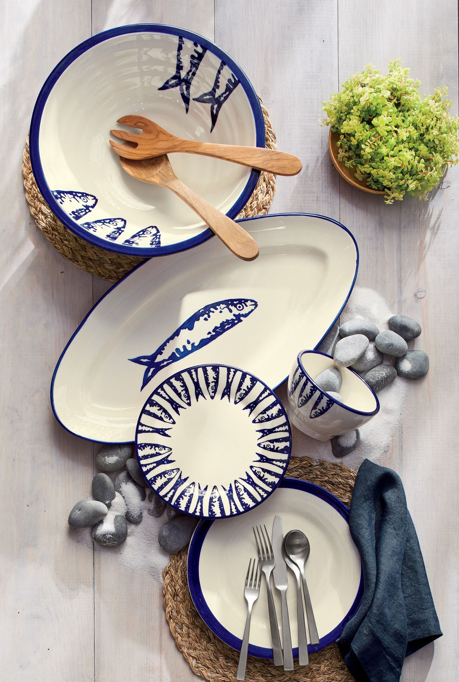 A life by the sea inspired our exclusive terra cotta tableware collection designed by a master & A life by the sea inspired our exclusive terra cotta tableware ...
