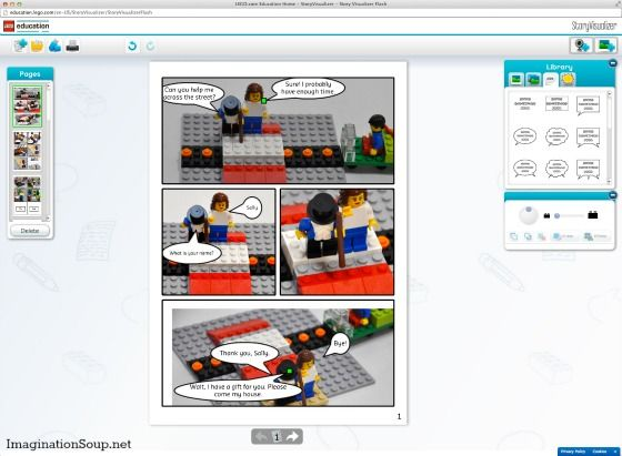 LEGO® Education Kit Gets Kids Writing | Kids writing, Lego and Fun ...