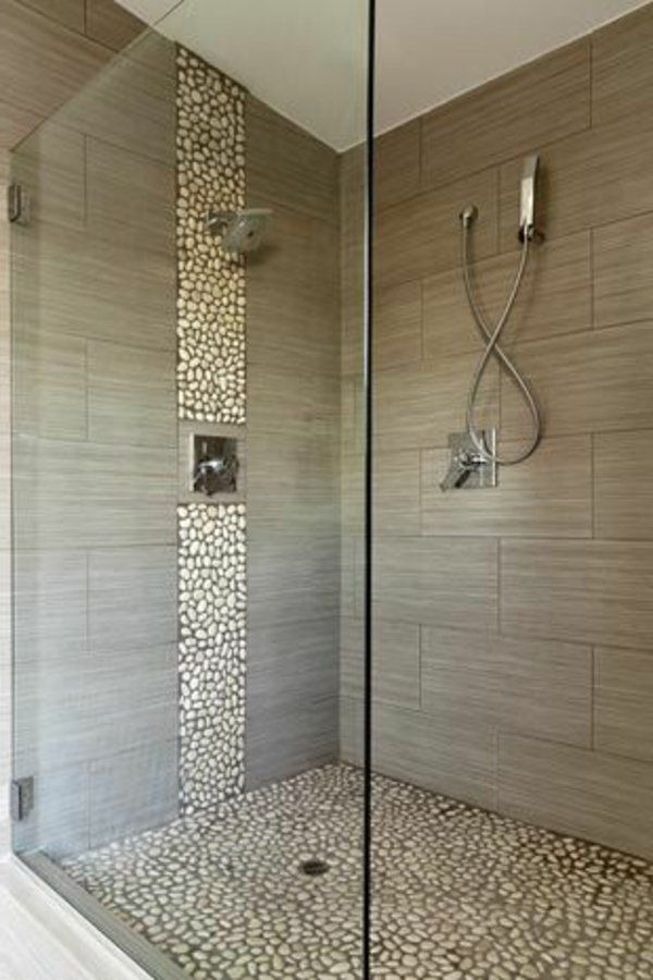 21 eigenartige ideen bad mit dusche ultramodern - Graue badfliesen ...