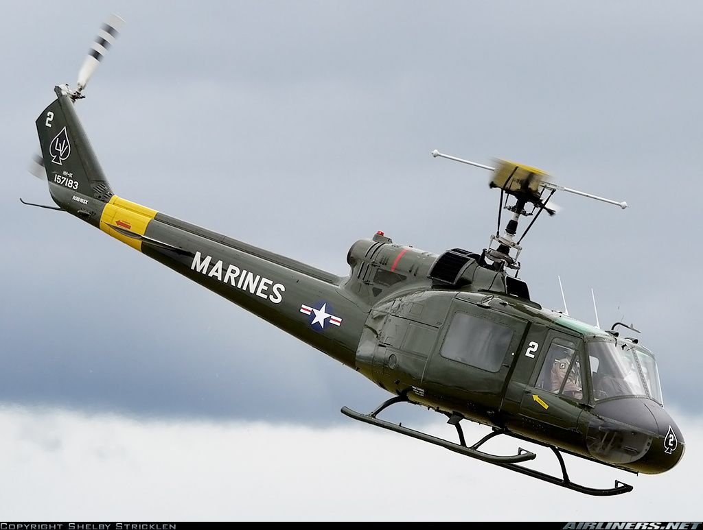 Bell HH-1K Iroquois (204)  NX6165X / 2 (cn 6307)