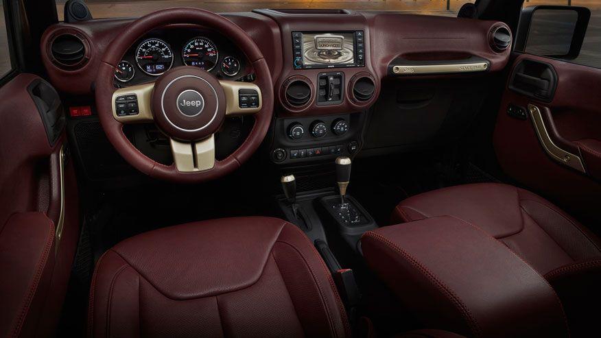 Jeep Commander Concept Interior