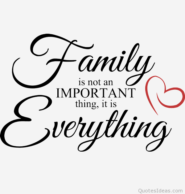 Quotes About The Importance Of Family Beauteous My Family Is My Life And Love I Will Always Protect And Cherish The . Design Inspiration