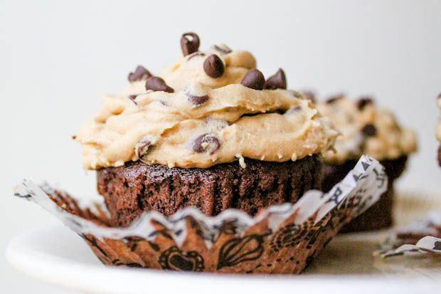 brownie cookie cupcakes