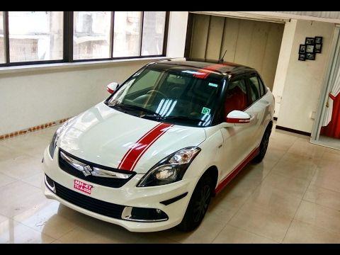 modified new swift dzire 2017 by vinay kapoor | + custom cars