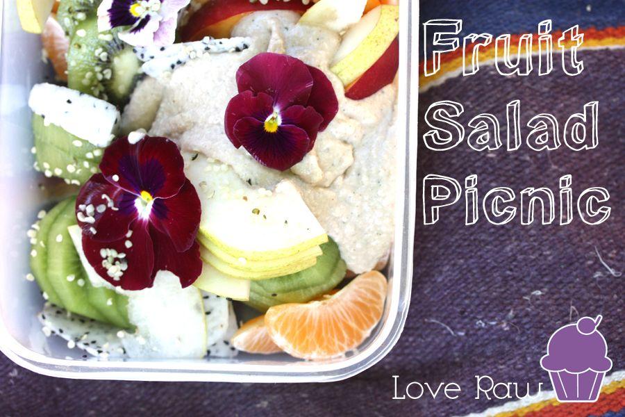 "Fruit Salad with ""Vanilla"" Sauce"