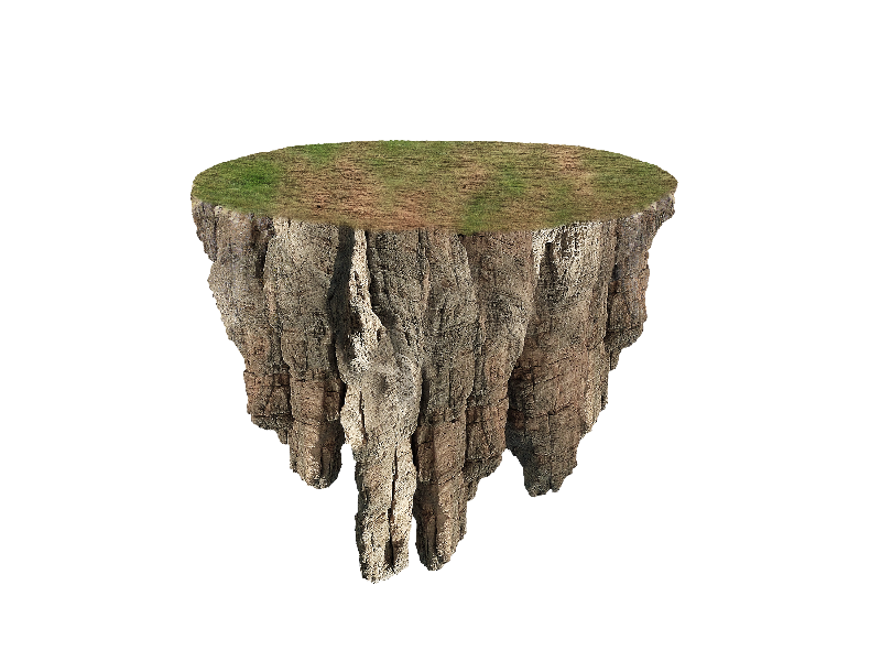 Floating Island Png Image Free Isolated Objects Textures For Photoshop Png Images For Editing Graphic Design Ads Church Graphic Design