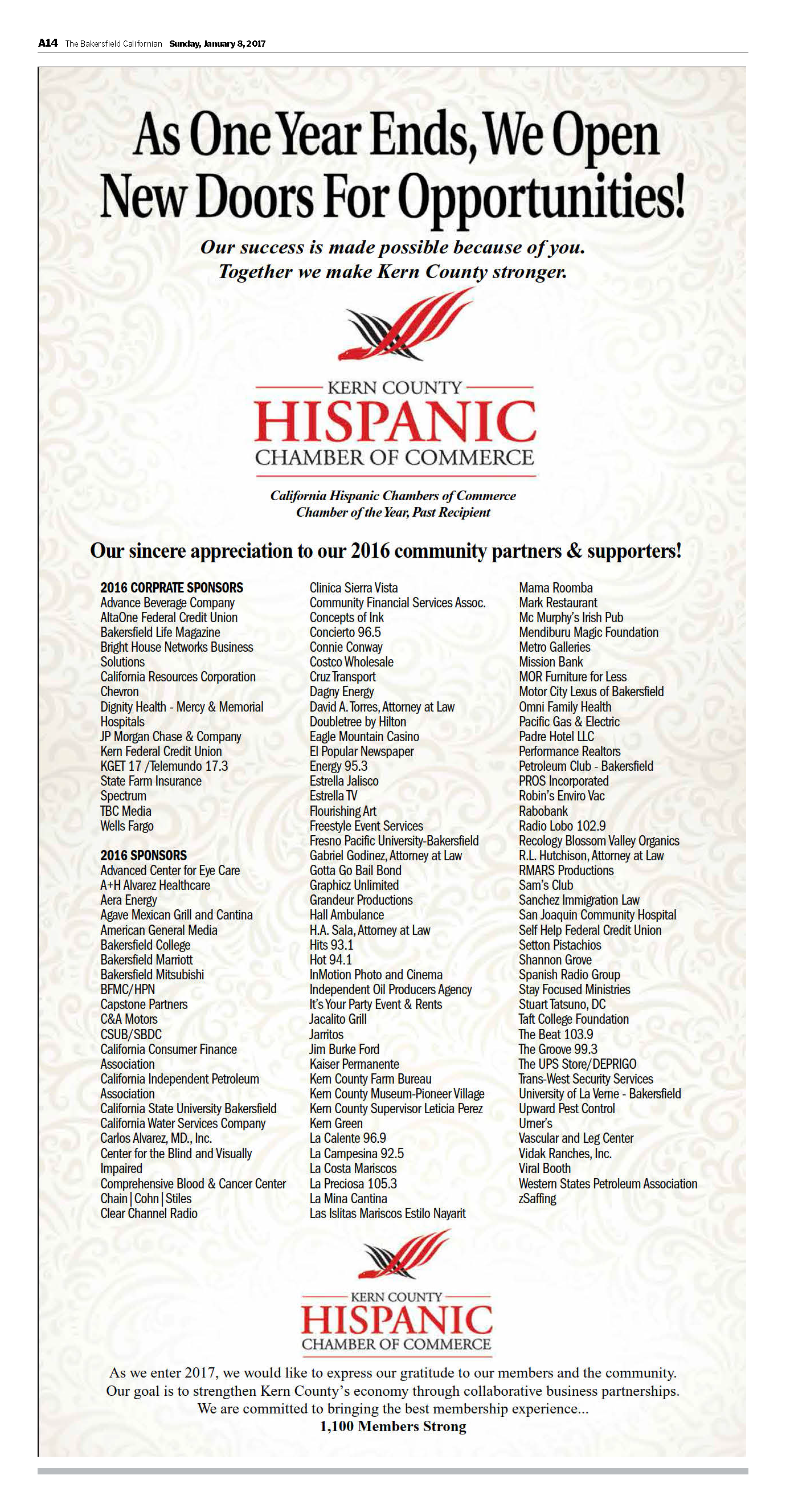 check out all of the local partners and supporters of our