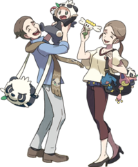 XY Poké Fan Family.png | Pokemon Trainers | Pinterest ...