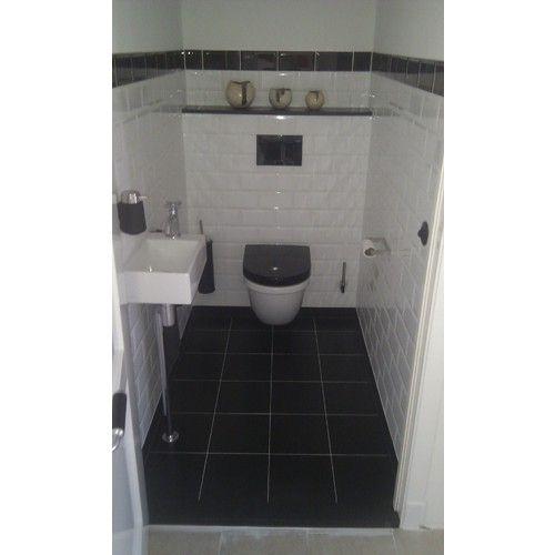 Afbeeldingsresultaat voor toilet metro tegel metrotegel pinterest toilet - Tegel metro kleur ...