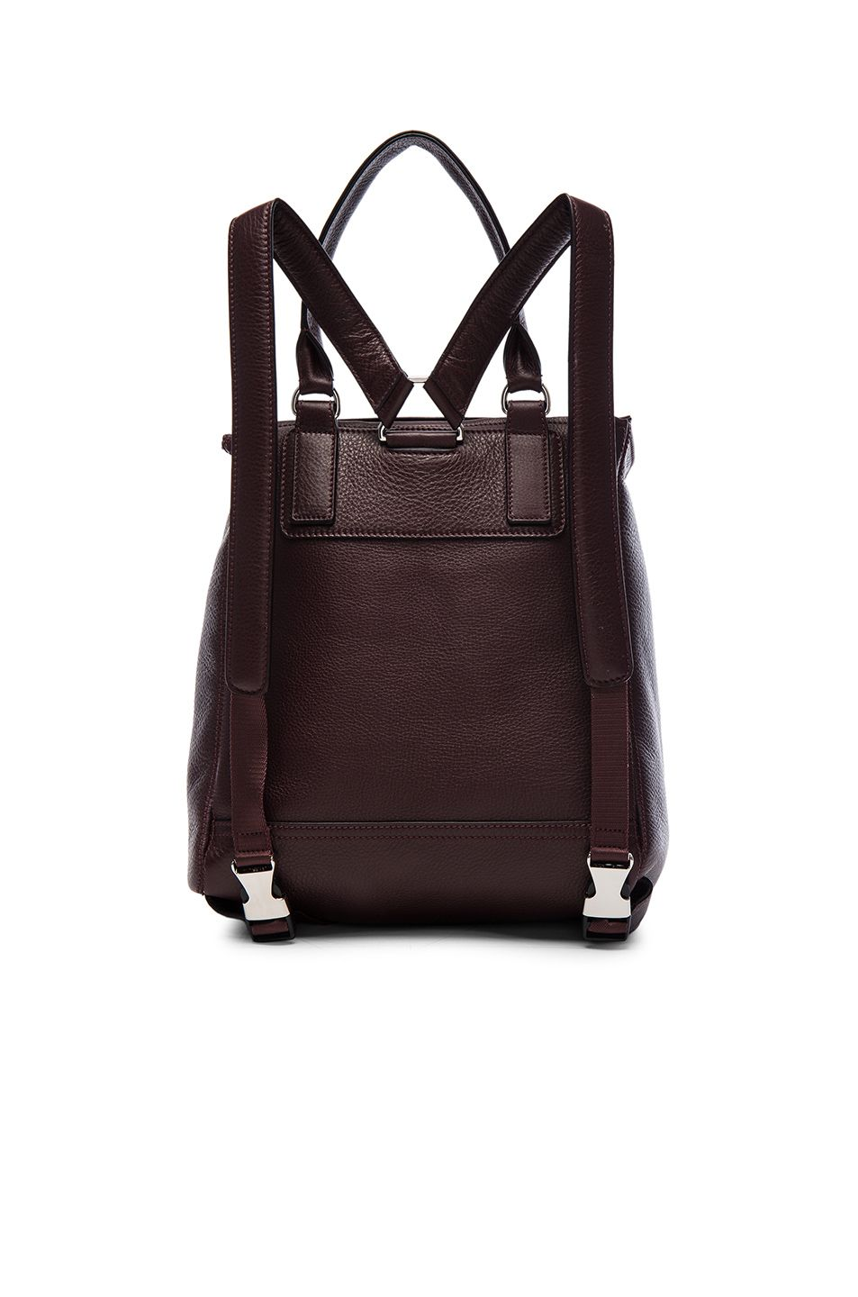 Image 3 of Givenchy Pandora Backpack in Wine
