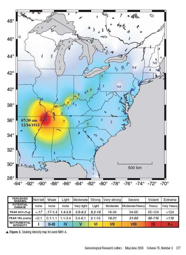new madrid fault map Yahoo Image Search Results Missouri USA