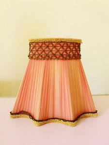 Vintage chiffon pleated french style lampshade lamp shade antique vintage chiffon pleated french style lampshade lamp shade antique shabby c aloadofball Image collections