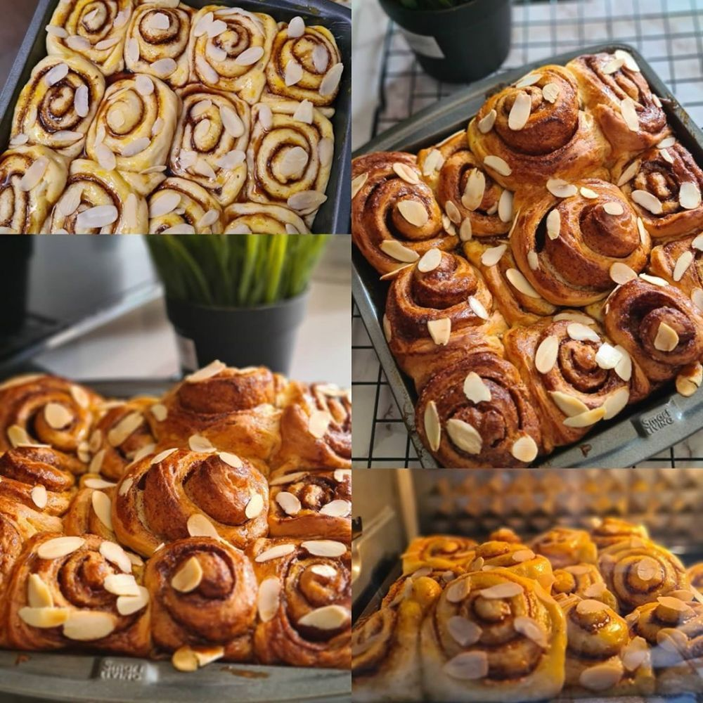 Resep Cinnamon Roll C 2020 Brilio Net Di 2020 Roti Cinnamon Roll Makanan Makanan Dan Minuman