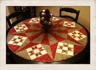 Image result for round table patchwork