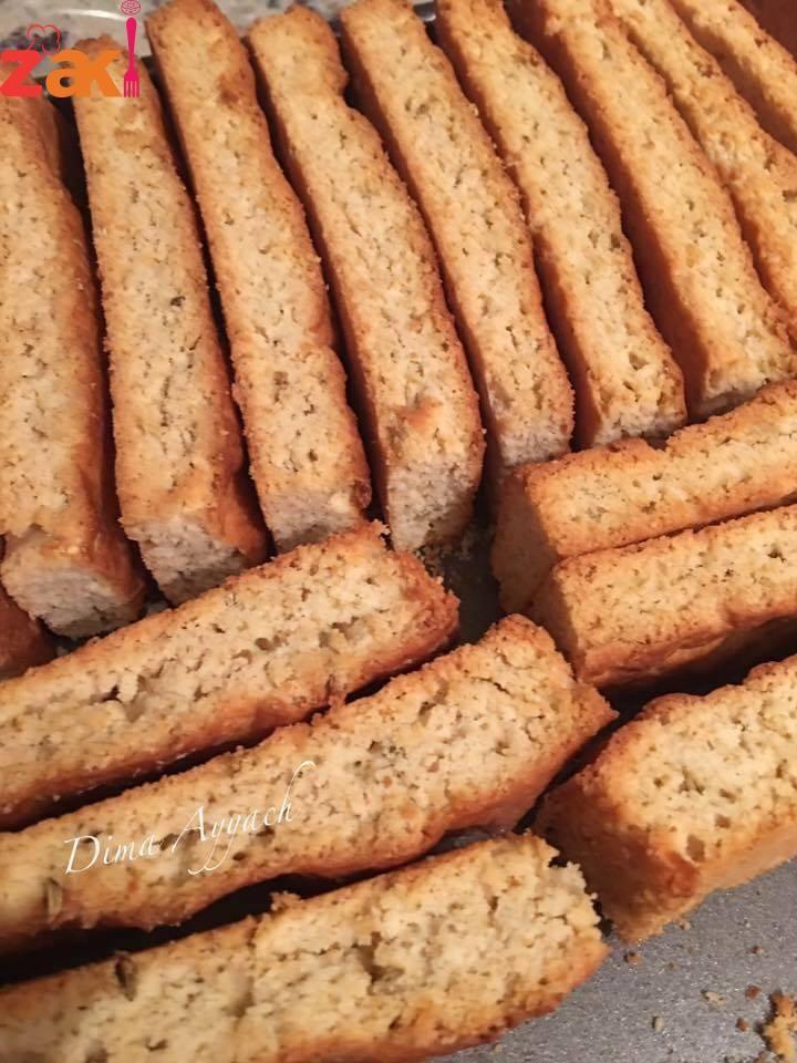شابورة أو قرشلة باليانسون زاكي Arabic Food Food Tea Biscuits