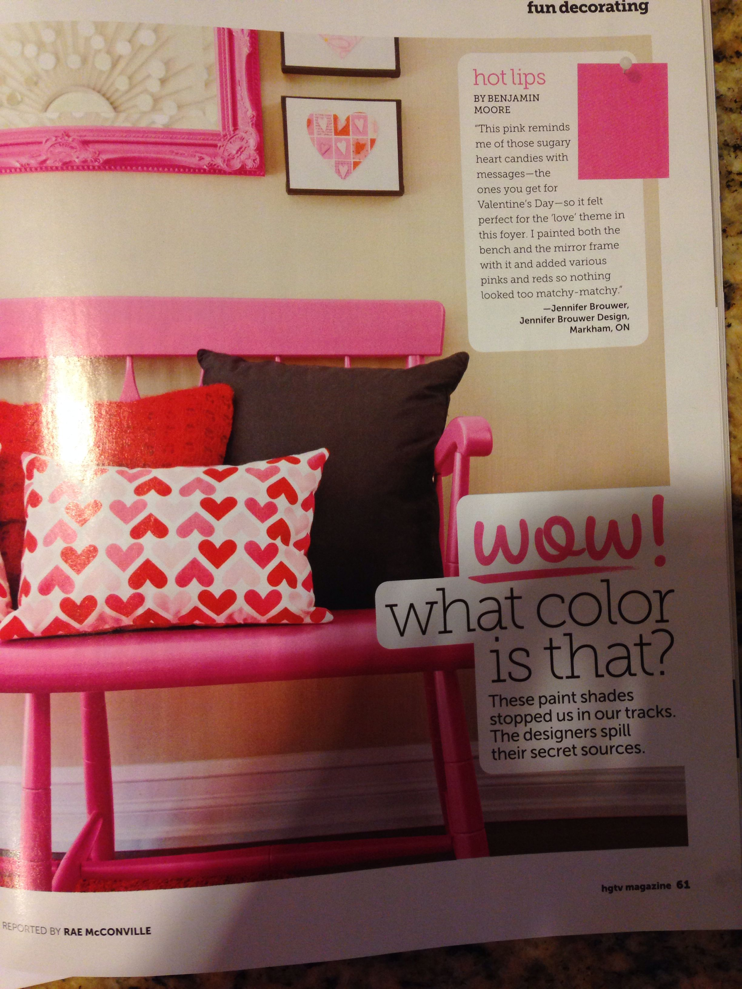 Hot Lips Benjamin Moore