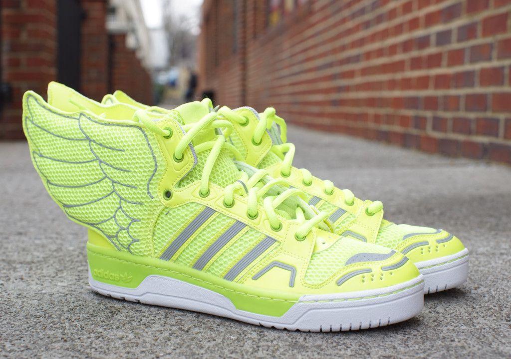 Adidas Jeremy Scott Wings 2.0 Neon