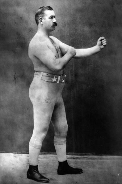 John L Sullivan Bare Knuckle Boxing Pugilist Martial Arts