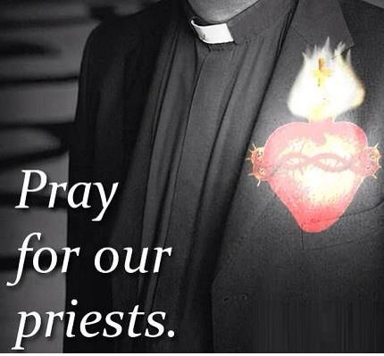 Pray for our priests.