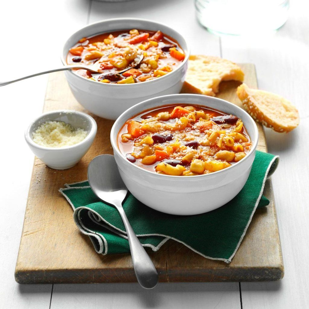 ContestWinning Easy Minestrone Recipe in 2020