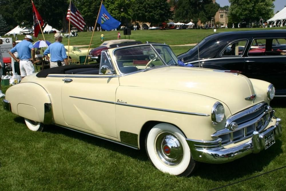 1949 chevrolet convertible