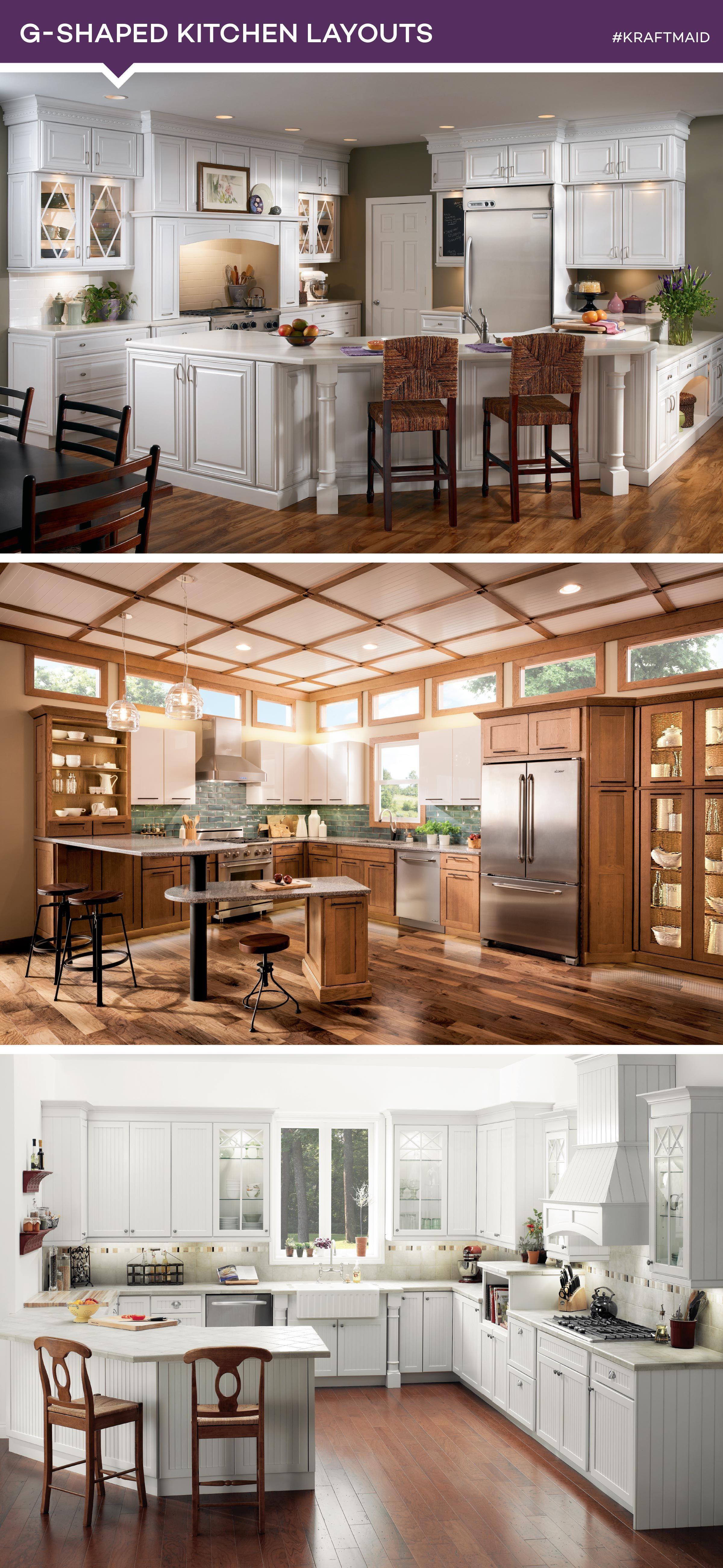 5 most popular kitchen layouts kitchen layout plans g shaped kitchen contemporary kitchen design on g kitchen layout design id=32909