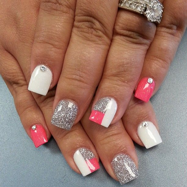 30 Awesome Acrylic Nail Designs Youll Want In 2016 Nail Nail