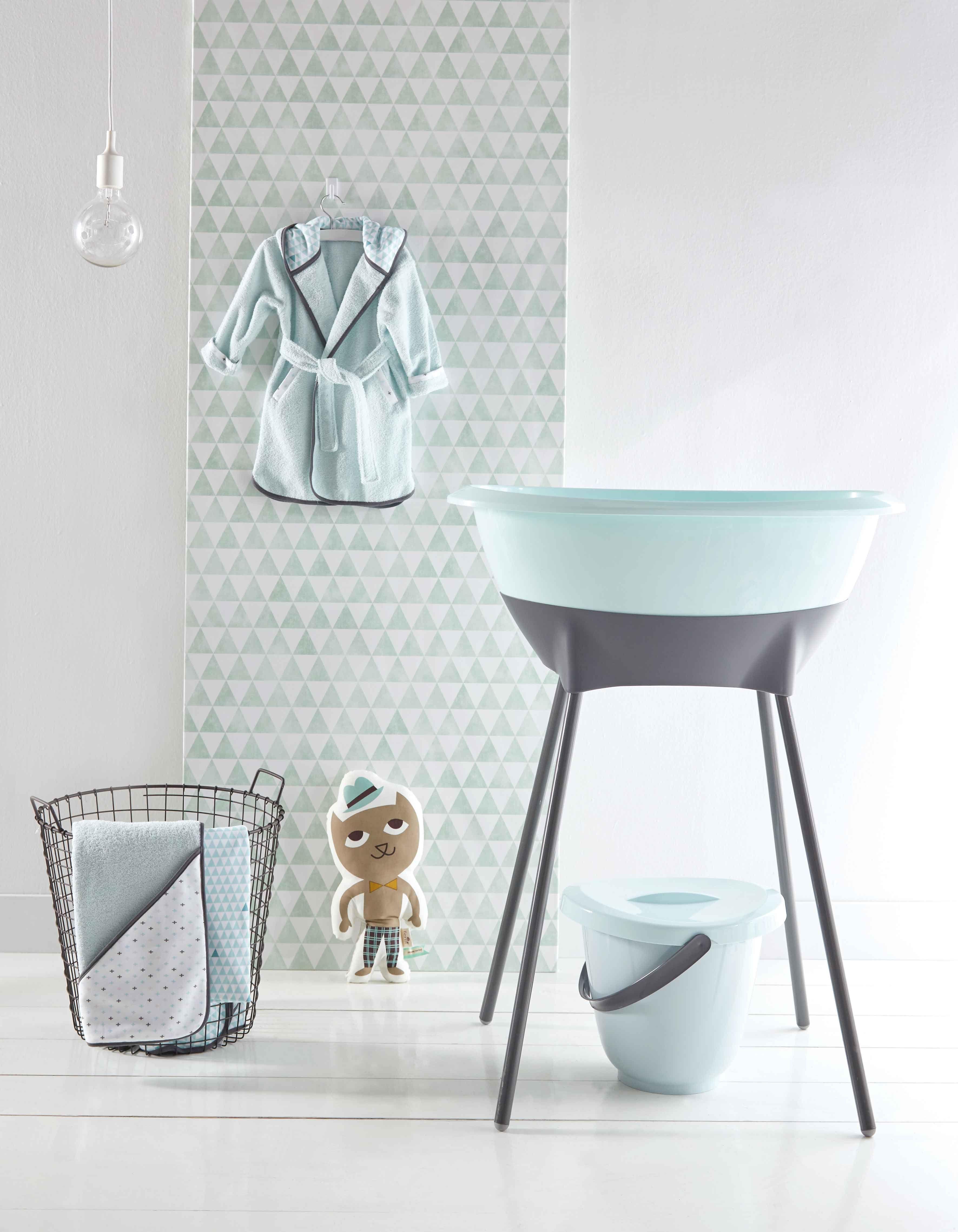 Luma Misty Mint Collection Baby Design Kinderkapstokken