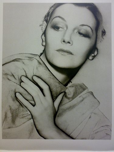 a solarization portrait of American photographer and model Lee Miller by American modernist artist Man Ray