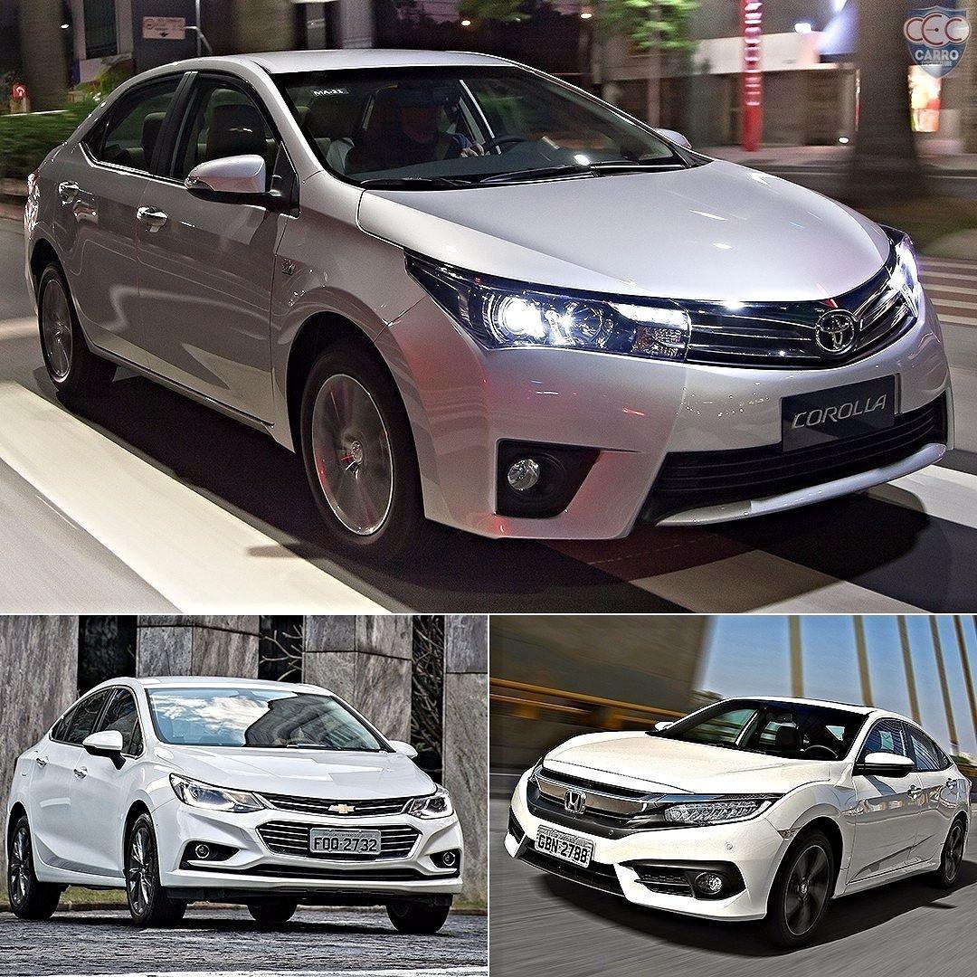 Toyota Corolla Seda Medio Mais Vendido Do Brasil Visual Renovado