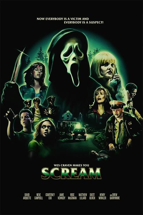 Image result for scream poster