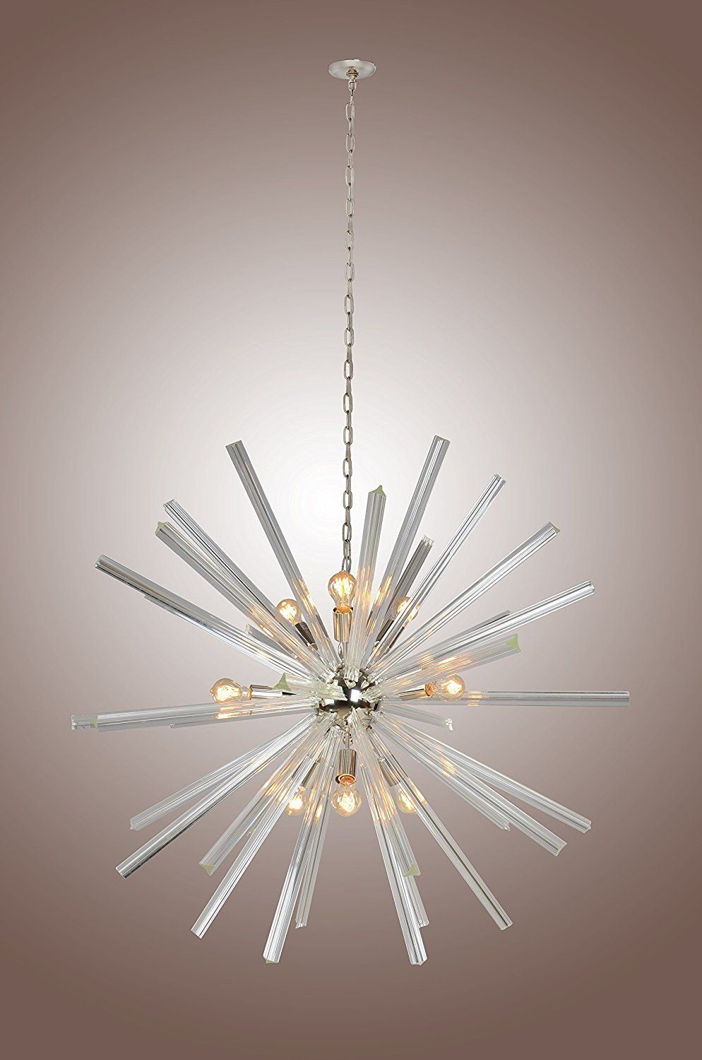 46 inch crystal bar ceiling pendant fixtures chandelier sputnik 46 inch crystal bar ceiling pendant fixtures chandelier sputnik axis clear glass aloadofball Image collections