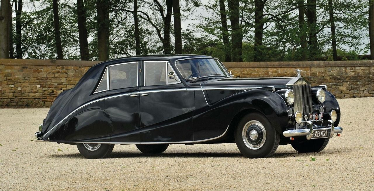 1954 Rolls Royce Silver Dawn Saloon By Hooper Chassis Srh4 Rolls