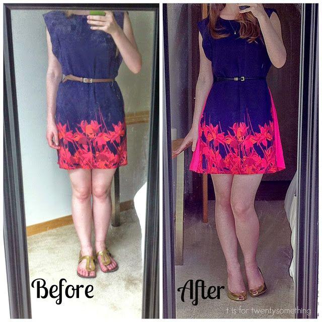 22afdcd291af DIY Thrift Dress Refashion | T is for Twentysomething | Diy dress ...